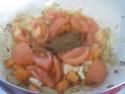 pâtes petits paniers et champignons,épices Massalé.photos. Pate_a20