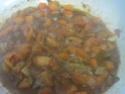 pâtes petits paniers et champignons,épices Massalé.photos. Pate_a21