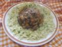 pâtes petits paniers et champignons,épices Massalé.photos. Pate_a25