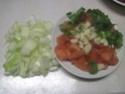 tortillas garnis de boeuf haché et légumes.photos. Tortil12