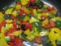 tortillas garnis de boeuf haché et légumes.photos. Tortil14