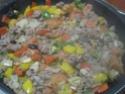 tortillas garnis de boeuf haché et légumes.photos. Tortil19