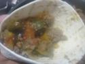 tortillas garnis de boeuf haché et légumes.photos. Tortil21