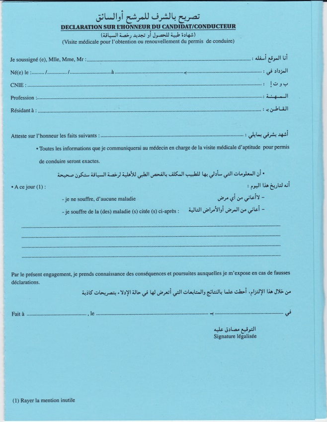 permis de conduire : la visite médicale des conducteurs de plus de 65 ans Dossie10