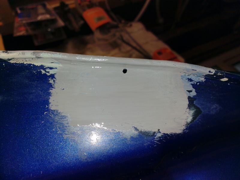 Petrol Tank repair... 2013-028