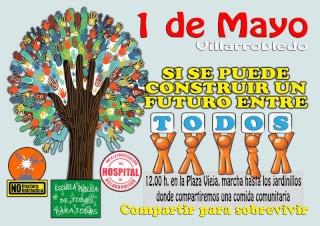 Acuerdos de la Asamblea Conjunta para preparar las movilizaciones del PRIMERO DE MAYO en Villarrobledo (9 de Abril de 2013) 1demay11