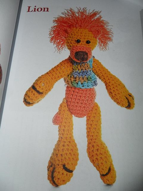 modèle lion en crochet pour Martine! Sam_2812