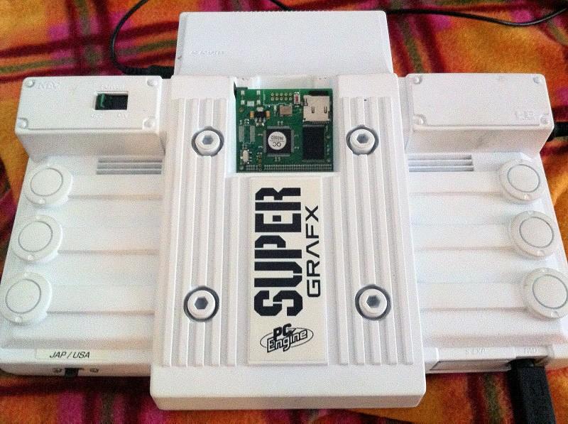 "[TEST] Linker ""Turbo Everdrive"" pour PC Engine Superg10"