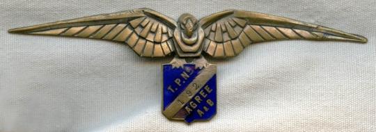 Insigne Armée de l'air (?) à identifier  Unidtp10