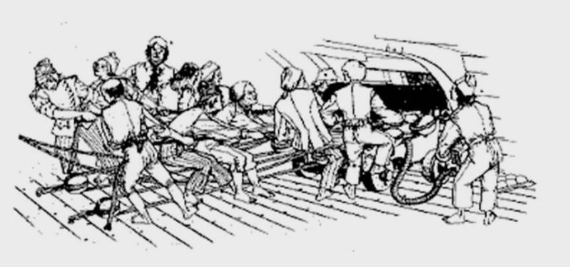 [Histoires et histoire] Les matelots Berckois dans la marine royale de 1670 à 1770. Canonn10
