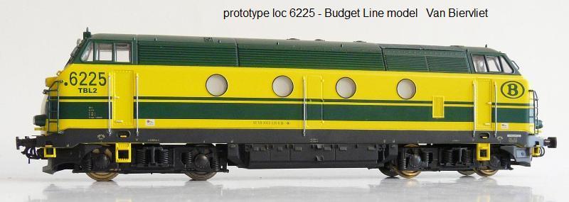 Van Biervliet : Budget Line Model 6225-010