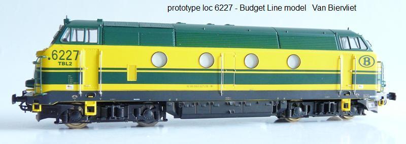 Van Biervliet : Budget Line Model 6227-010