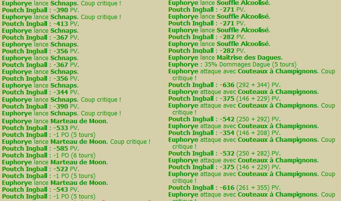 Euphorye, ou le Pandafeca ! Lvl188 Degats10