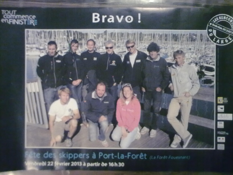 Fête des skippers Port La Forêt 23022010