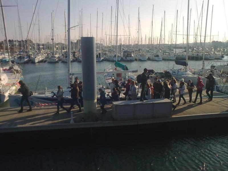 Fête des skippers Port La Forêt 23022015