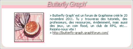 Butterfly Graph' • Forum de Graphisme Bg10