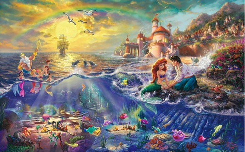 Les Disney Princesses (+ Elsa et Anna) [Topic Unique] Ariel212