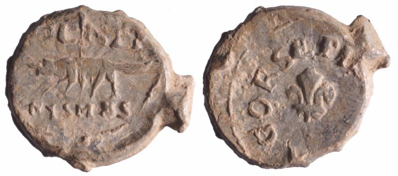 Les plombs de soyeux de Nîmes. D207710