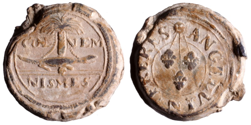 Les plombs de soyeux de Nîmes. D217410