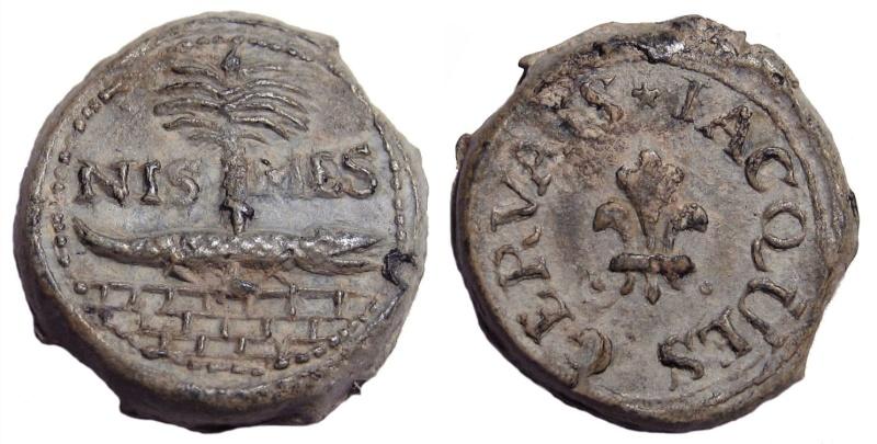 Les plombs de soyeux de Nîmes. For13610