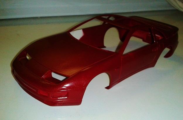Nissan 300ZX turbo Paint10