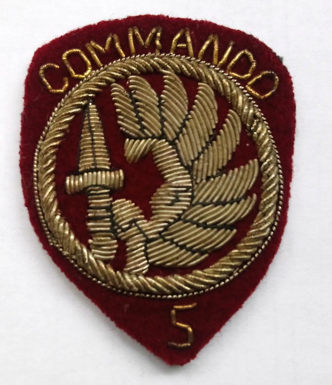 Insigne Commando Parachutiste N° 5  Dsc_1110
