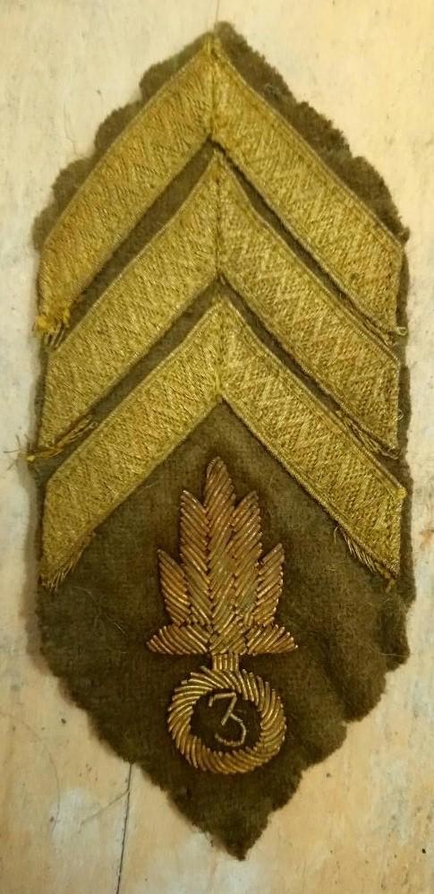 insigne tissu légion étrangère 1914-1918 Dsc_1410