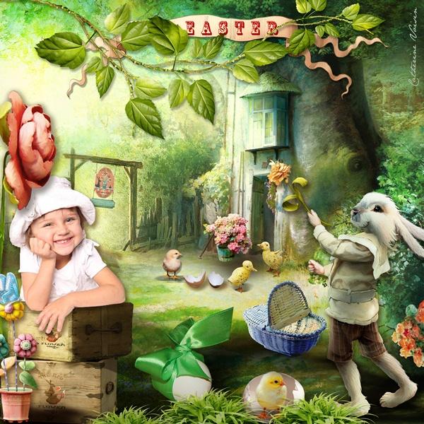 Challenge consigne N°13 : jusqu'au 31 mars  Easter11