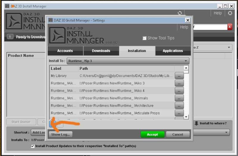 Frage zum DAZ Downloadmanager Dimadd11