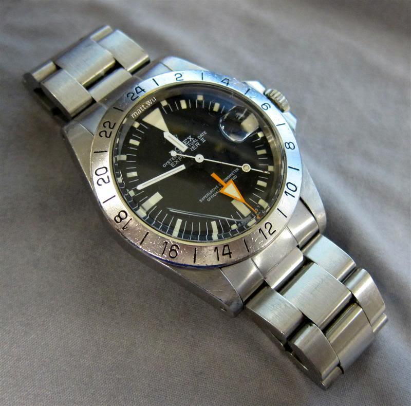 Recherche photos Rolex Explorer 2 - 16750 Rolex_10