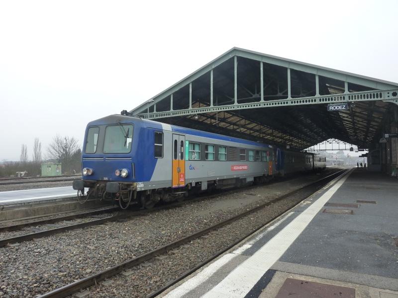 Petit tour de Train de Brive à Brive via Rodez et Capdenac en février 2013 P1040615
