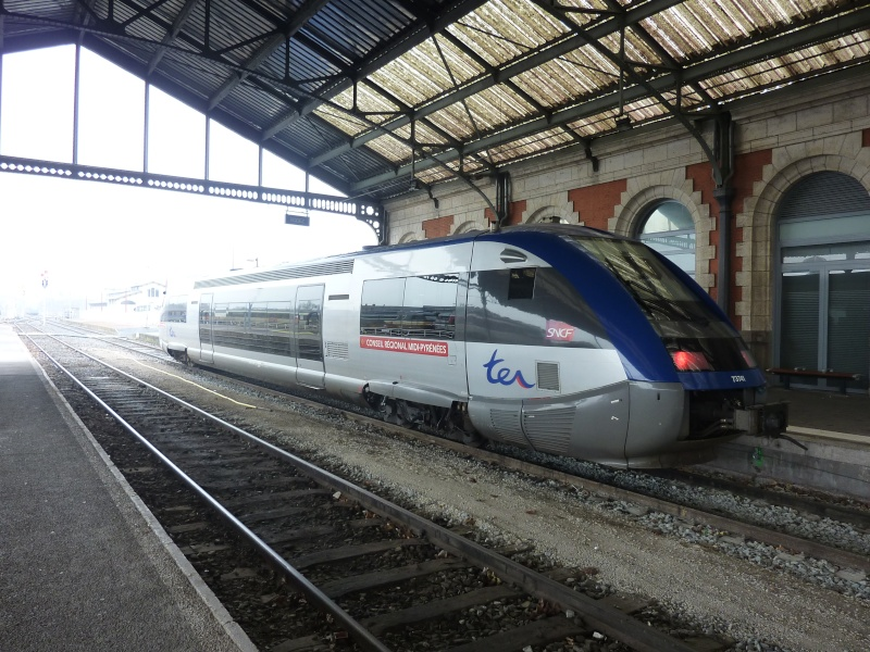 Petit tour de Train de Brive à Brive via Rodez et Capdenac en février 2013 P1040617