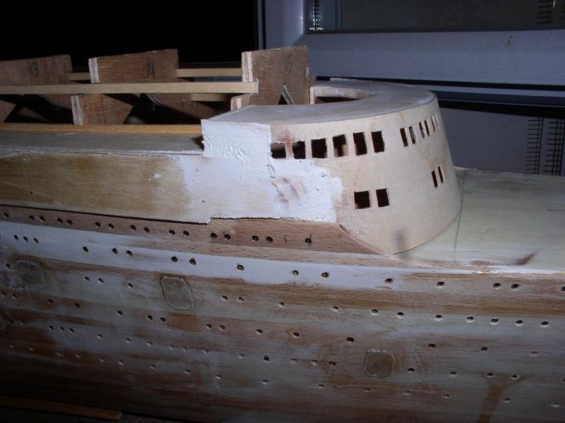Paquebot France (Plan MRB 1/200°) de Olivier2a P1010210