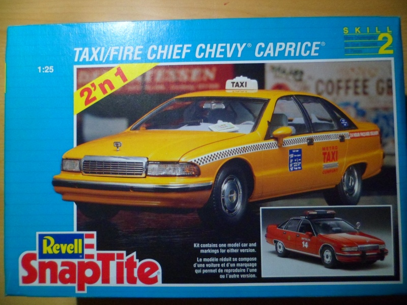 Taxi/Fire Chief Chevy Caprice Revell 1:25 Sam_1928
