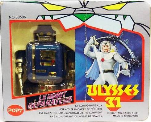 Ulysse 31 / Ulysses 31 (Popy bandaï et multi) 1981 Robotm10