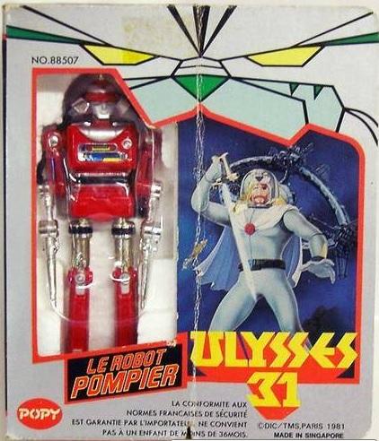 Ulysse 31 / Ulysses 31 (Popy bandaï et multi) 1981 Robotp11