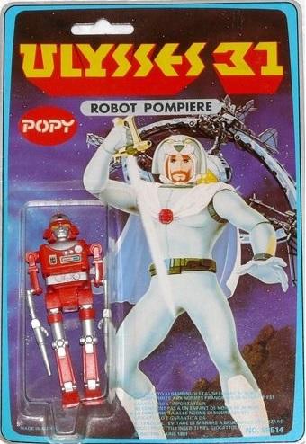 Ulysse 31 / Ulysses 31 (Popy bandaï et multi) 1981 Robotp12