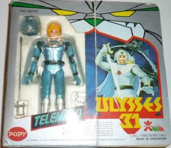 Ulysse 31 / Ulysses 31 (Popy bandaï et multi) 1981 Telema10