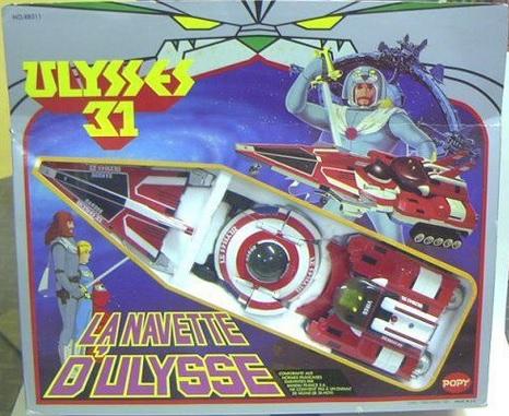 Ulysse 31 / Ulysses 31 (Popy bandaï et multi) 1981 Tripar10