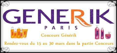 Concours GENERIK Generi12