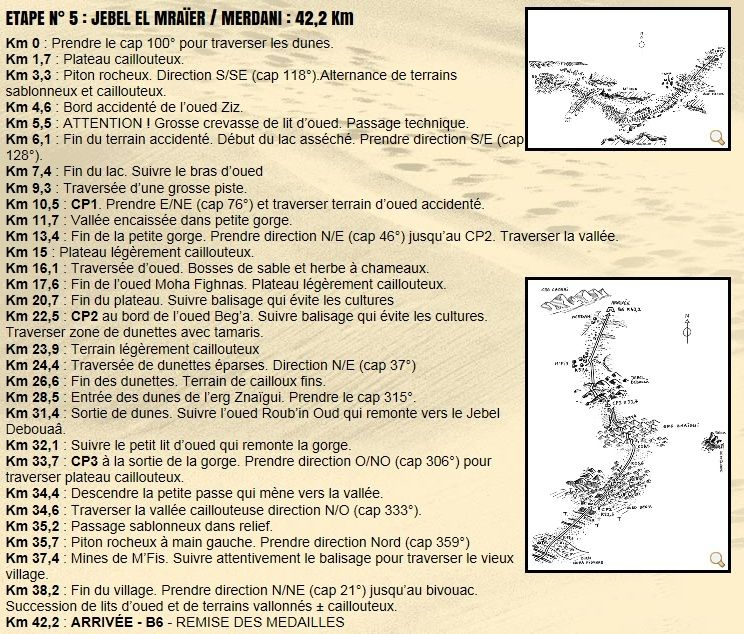 """Live from the Desert"" MDS 2013 - Etape 5 - JEBEL EL MRAÏER / MERDANI : 42,2 Km 20130417"