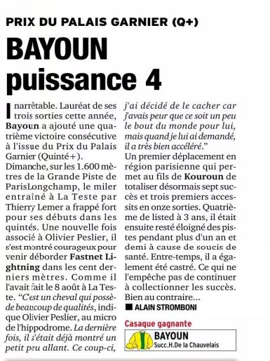 Le compteur de victoires : 2783, Bayoun, 16/09/18 Bayoun11