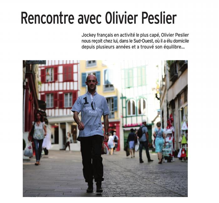 Olivier Dans le Paris Turf Magazine  Captu117