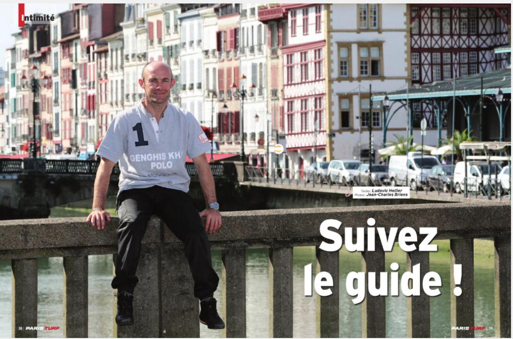 Olivier Dans le Paris Turf Magazine  Captu118