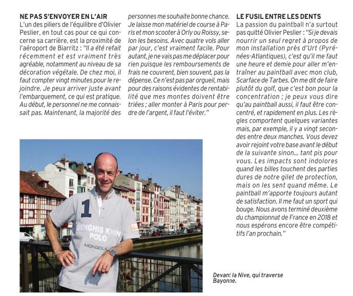 Olivier Dans le Paris Turf Magazine  Captu120