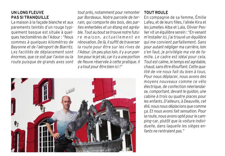 Olivier Dans le Paris Turf Magazine  Captu124