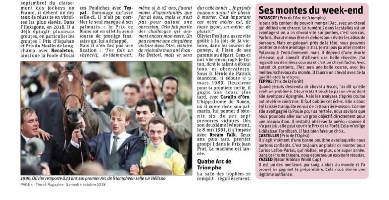 Olivier Dans Tiercé Magazine  Captu126