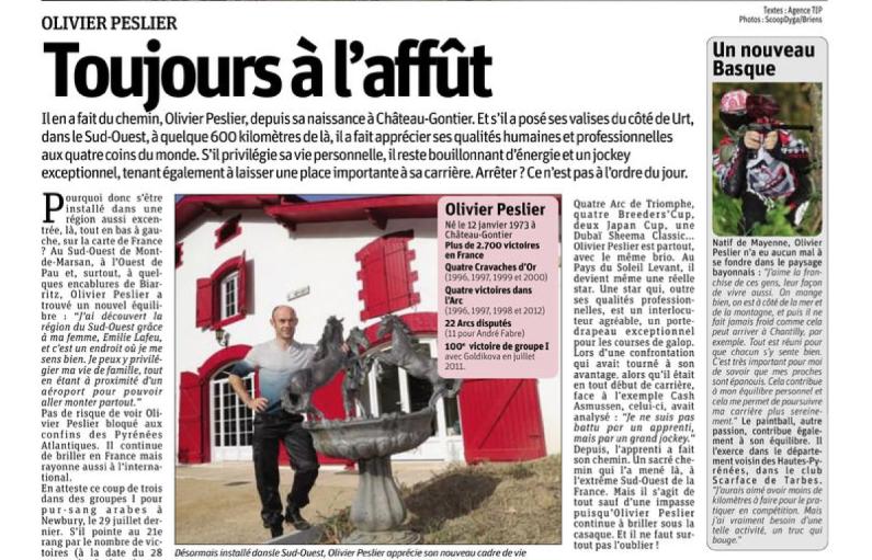 Olivier Dans Tiercé Magazine  Captu127