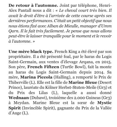 Le compteur de victoires, 24/06/18 French King  Captur13