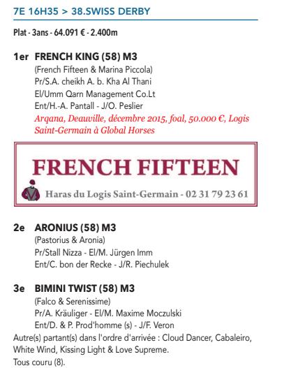Le compteur de victoires, 24/06/18 French King  Captur14